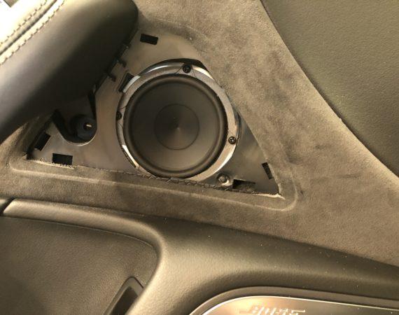 Audi A6 4G neue Lautsprecher einbauen