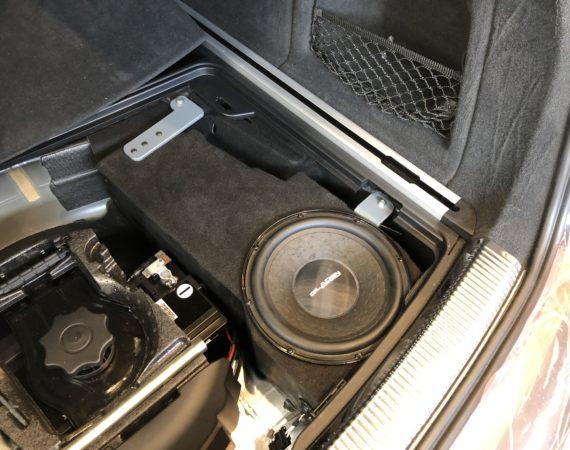 Audi A6 4G Subwoofer nachrüsten